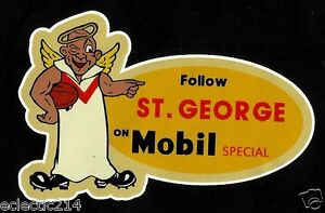 FOLLOW ST GEORGE MOBIL SPECIAL Vinyl Sticker Decal NRL SAINTS DRAGONS ILLAWARRA