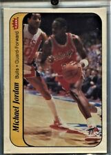 MICHAEL JORDAN 1986-87 FLEER STICKER ROOKIE RC #8 CHICAGO BULLS HOF