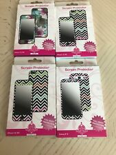 BYTECH Screen Protector for iPhone 4 4S and One Galaxy S3 New In Box