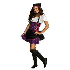 Rubies Costume Sassy Girls Teen Junior Gypsy Costume Size Teen Small 0-2
