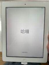 Apple iPad 3rd Gen. 64GB, Wi-Fi, 9.7in - White. Used. Working. Accessories. Box