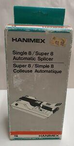 Hanimax Single 8 / Super 8 Automatic Film Splicer Model # 043001-7 Made in Japan