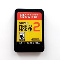 Super Mario Maker 2 (Nintendo Switch, 2019) Cartridge Only Tested & Works