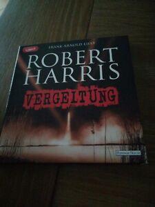 """Robert Harris """"VERGELTUNG"""",2 mp3-CDs"""