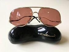 Vintage colani 15-701 eyeglasses Gold OPTOS rare nos 80s Titanium Wing Commander