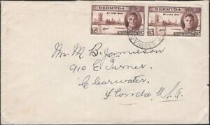 BERMUDA, 1947. Cover 131 (2), Southampton - Clearwater, FL