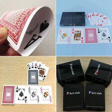 Spielkarten Set Poker Wasserdicht Karten 100% Plastik Kunststoff Neu