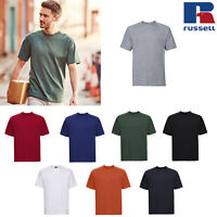 Russell Men's Workwear T-Shirt R-010M-0 - Short Sleeves Casual Wear Summer Tee