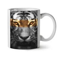 Tiger Art Wild Cat NEW White Tea Coffee Mug 11 oz | Wellcoda