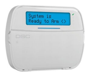 DSC PowerSeries NEO HS2LCD-ENG Full Message LCD Hardwired Keypad NEW