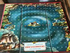 BROADSIDE BOARD GAME CIRCA 1962 by Milton Bradley