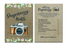 50 Fotokarten Hochzeit, Fotoralley Hochzeitsspiel, Fotospiel