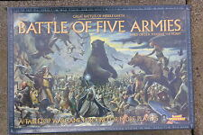 G W .. THE BATTLE OF THE FIVE ARMIS, BOX GAME