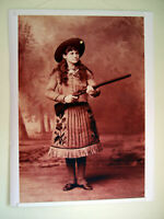 "Hi-Q, XL Format Art Print of Annie Oakley in 1889 Wild West Show 36""x27"" Poster"