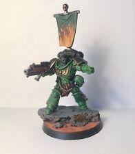 Pro Painted Salamanders Space Marine Primaris Lieutenant