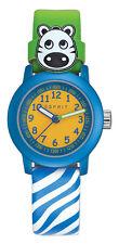 ESPRIT Kinderuhr ES106414032 ES-Cutie Face green Leder grün blau weiß neu
