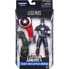 Marvel Legends Secret War Captain America Civil War Wave 3 Abomination BAF