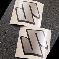 Suzuki Silver Metallic S Logo decals 1000 sticker 1100 gsxr 600 gsxs 750 drz 450