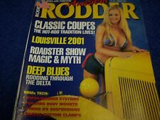 American Rodder  Magazine, Hot Rod,Rat Rod.Back Issue January 2002