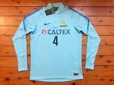 Australia SOCCEROOS 2017 Cahill #4 Nike 1/4 Zip Player Sweatshirt Jersey XL