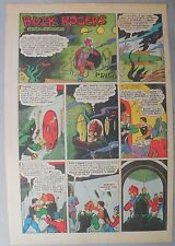 Buck Rogers Sunday Page #482 by Calkins & Nowlan from 7/1/1939 Tabloid Page