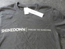 Shinedown Threat to Survival World Tour Souvenir Tee Shirt - Small - Black