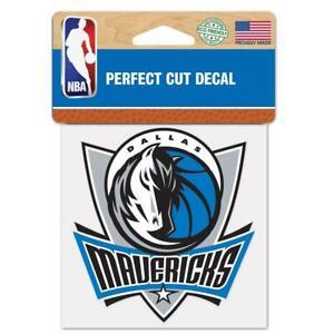 """Dallas Mavericks Perfect Cut 4""""x4"""" Color Decal [NEW] NBA Auto Sticker Emblem"""