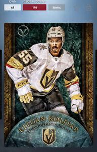 Topps Skate Digital Valor Platinum Base Card Keegan Kolesar. Iconic.