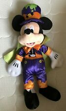 """New listing Disney Collection Mickey Mouse Holiday Plush Halloween Toy 16"""" Purple"""