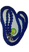 "BLUE Heavy duty Rope Dog Lead Leash 130cm/52"" Long Training Large Dogs Collars"