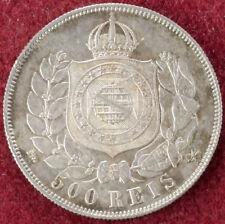 Brasil 500 Reis 1867 (D2609)