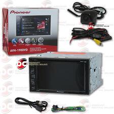 "PIONEER AVH-190DVD 2DIN 6.2"" DVD CD CAR STEREO FREE BLACK KEYHOLE BACKUP CAMERA"