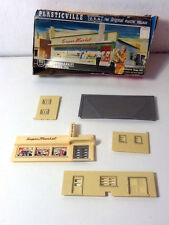 Plasticville - Ho Scale Supermarket - Complete - Great Condition
