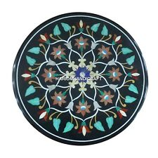 Marble Breakfast Table Tops Marquetry Indian Inlaid Dining Room Home Decor H4354