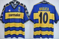 2002-2003 Parma Jersey Shirt Maglia Home parmalat Champion Nakata #10 XL BNWT