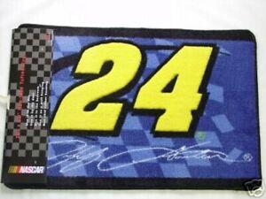 NASCAR #24 Jeff Gordon 20 X 30 Tufted Non-Slip Rug