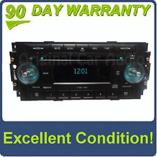 OEM Factory DODGE Ram CHRYSLER JEEP AM FM Radio 6 Disc Changer MP3 CD Player RAQ