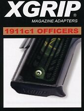 XGrip for 1911 Full Size Magazie Use in Officer/Compact Pistol 45ACP/9mm 1911C1