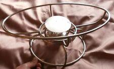 CHRISTOFLE : Dessous de plat chauffant réversible en métal argenté