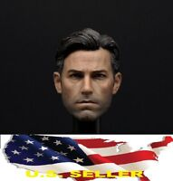 1/6 Ben Affleck head 2.0 batman v superman Bruce Wayne for hot toys phicen USA