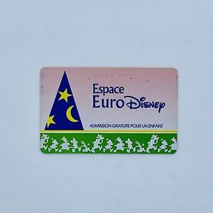 Passeport Enfant Espace Euro Disney