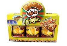 """Limited edition """"Takoyaki"""" Flavor Pringles released in Japan 3 x 53 g"""