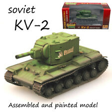 WWII Soviet Union KV-2 heavy tank Russian Green painted 1/72 finished Easy Model