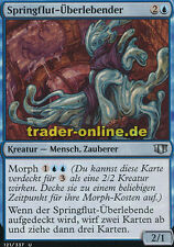 2x Springflut-Überlebender (Riptide Survivor) Commander 2014 Magic