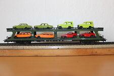 Märklin HO 4084 Autotransporter mit 8 Fahrzeugen