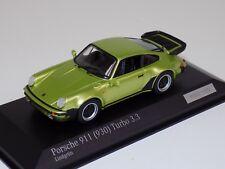 1/43 Minichamps Porsche 911 ( 930 ) Turbo 3.3. Metallic green     CA04316039