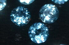 Beautiful Single 4mm 0.30ct Brilliant Cut Sky Blue Topaz Gemstone