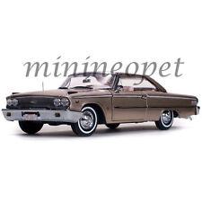 SUN STAR 1467 1963 63 FORD GALAXIE 500 XL HARD TOP 1/18 DIECAST ROSE / BEIGE