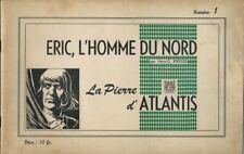 RARE EO 1948 HANS KRESSE ÉRIC, L'HOMME DU NORD ( SÉRIE COMPLÈTE 1 À 5 )