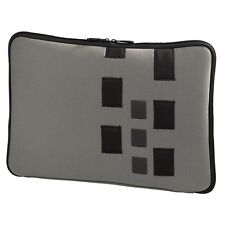 Hama Neopren Notebook-Cover Cuboid für MacBook bis 43 cm,17 Zoll, grau 101975